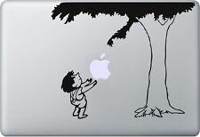 Apple MacBook Air Pro + Adán y Eva + Pegatina Sticker skin decal Manzano