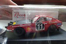 Scalextric RACER SLOT CAR - SL11A Datsun 240Z E.A. Safari 1971Winner 1/32 #NEW#