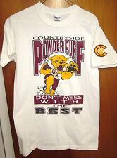 COUNTRYSIDE POWDER PUFF small T shirt football K-Dawg #22 Florida 2007 paw logo