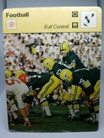 1978 SPORTSCASTER NFL CARD #39-17 BALL CONTROL PACKERS SUPER BOWL MINT CONDITION