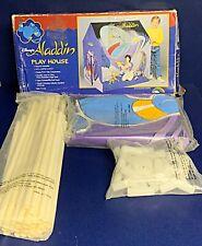 VTG Disney Aladdin Play House Tent pvc vinyl Genie 90's NEW In Packaging