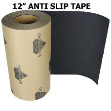 "12"" x 10' BLACK Roll Safety Non Skid Tape Anti Slip Tape Sticker Grip Safe Grit"