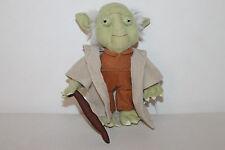Zewa Star Wars Yoda Puppe Stoffpuppe Figur Stofftier 18cm RAR TOP
