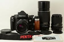 Pentax 67II Film Camera +75mm, 135mm, 300mm, Hand Grip [Excellent] (333-K54)