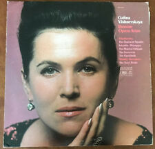 Galina Vishnevskaya:  Russian Opera Arias Recorded In USSR.