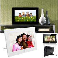 7inch HD LCD Digital Photo Frame with USB Alarm Clock Slideshow MP3/MP4 Player