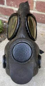 Vtg 1960s Firestone Tire and Rubber Company M17 Vietnam War Gas Mask
