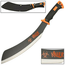 Necromancer Zombie Killer Outdoor Hunting and Camping Parang Machete Knife