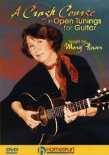 Mary Flower Crash Course In Open Tunings For Guitar Learn to Play Music DVD