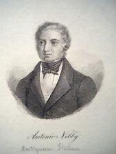 M Antonio Nibby archeologia roma acquaforte Amatrice 1820