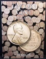 1941-1974 Harris Wheat Penny Folder #2