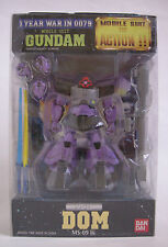 "NEW BANDAI MOBILE SUIT GUNDAM : MS-09 DOM  4.5"" Action Figure anime"