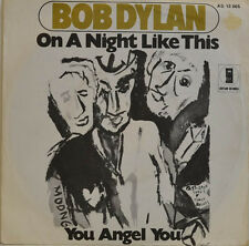 "BOB DYLAN - ON A NIGHT LIKE THIS (ASYLUM 13005) Single 7"" (I777)"