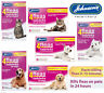 JOHNSONS 4FLEAS TABLETS CATS KITTENS DOGS PUPPIES KILLS FLEAS CONTROL SAFE