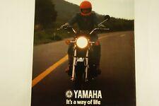 Yamaha XS750-2D Road Bike Original Vintage 1977 Brochure Motorcycle Pamphlet