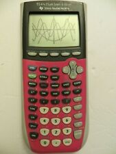 Texas Instruments Ti-84 Plus Silver Edition Graphing Calculator-Pink