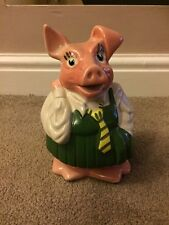 Genuine Wade Natwest Bank Pigs School Girl Sister Annabel Good Condition !