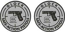 Glock 2 Vinyl Stickers 110mm Circular