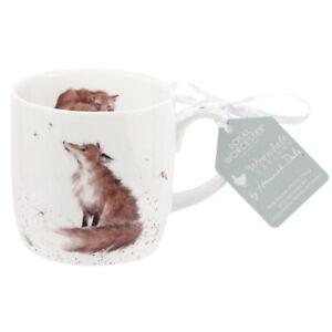 Wrendale Fox Coffee Mug The Artful Poacher Fine Bone China Royal Worcester 310ml