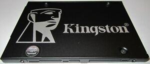 "Kingston KC600 SKC600256G 256GB 3DTLC 2.5"" (7mm) SATA 6Gbps SSD - Tested"