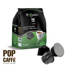 NESCAFE' DOLCE GUSTO COMPATIBILI 160 CAPSULE POP CAFFÈ  MISCELA 2 CREMOSO