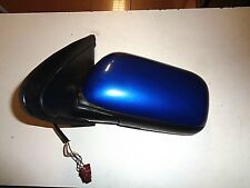 NISSAN ALMERA N15 bj.95-00 Espejo Exterior Eléctrico Puerta izquierda BS7 Azul