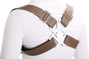 Xcoser CP Adjustable Buckle Holster Harness Cosplay Belt Pockets (A)