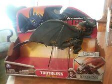 Toothless Night Fury NIP DreamWorks Riders of Berk 2014