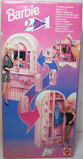 VTG 1993 BARBIE 2 IN 1 TV CABINET & ARMOIRE EUROPEAN MISB NEW