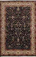 Floral Peshawar-Chobi Oriental Area Rug Hand-Knotted Wool 6x8 Home Decor Carpet