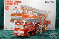[TOMICA LIMITED VINTAGE NEO LV-N24a 1/64] HINO TC343 LADDER FIRE ENGINE 1980