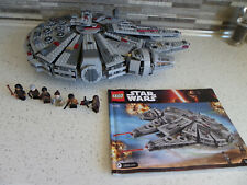 Lego Millenium Falcon 75105 Complete with Minifigures No Box