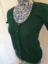 Ladies Top Shop Knitted Short Sleeve Top Size 10
