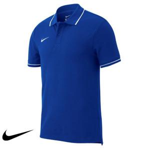 Nike Team Club 19 Men's Short Sleeve Polo Royal Blue/White