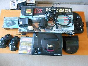 Sega Megadrive/Mega CD 1 and 39 Game Bundle