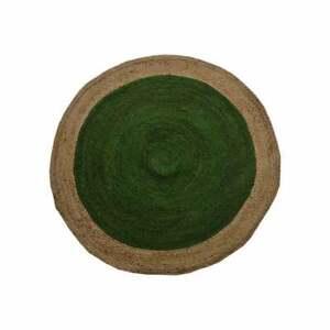 Rug 100% Natural Jute Round Braided Style Carpet Reversible Rustic Look Area Rug
