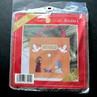 Mill Hill Behold Holiday 1 Buttoned & Beaded Cross Stitch Kit MHCB2 Nativity