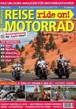 RM0906 + BMW K 1300 GT vs F 800 ST + HARLEY-Modelle 2010 + REISE MOTORRAD 6/2009