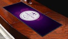 Joyeux Noël & a Happy NOUVEL AN circle violet BARRE Tapis idéal fêtes & pubs