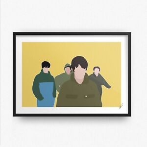 The Stone Roses INSPIRED WALL ART Print / Poster A4 A3 fools gold adored drums