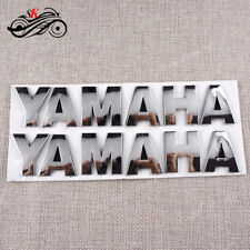 Motorcycle 3D Tank Emblem Decal Sticker For Yamaha YZF R6 R1 R25 R125 R3 MT FZ