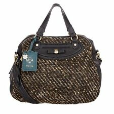 Nica Sophie Tweed Mix Grab Shoulder Bag Designer Handbag Genuine