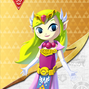 Toon Zelda Amiibo COIN   The Legend of Zelda Amiibo   Get Hero's Shield BOTW