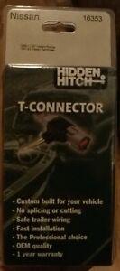 Hidden Hitch T-Connector fits 1986-1997 Nissan Pick Up 1987-1995 Pathfinder OEM