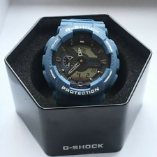 Casio G-Shock World Time Alarm Analog Digital Men's Watch GA-110DC-2A