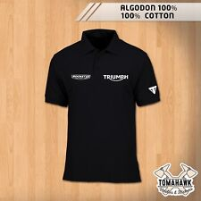POLO TRIUMPH ROCKET III 2300 MOTORCYCLES POLO SHIRT POLAIRE