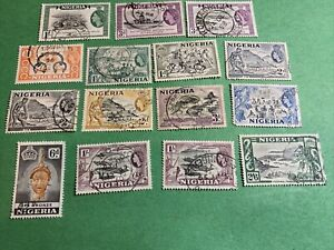 NIGERIA SELECTION QUEEN USED ( FILE 67 LOT 33)