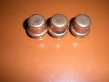 """3 - Viega 77712 ProPress 1/2"""" Copper Cap"""