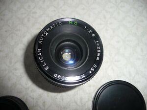 Vintage Elicar Automatic Mc F2.8 28mm no.55 Camera Lens