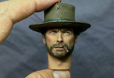 1/6 CUSTOM Clint Eastwood Head Sculpt Hot Toys Bane Tuco cowboy Body IMINIME CY